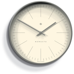 Newgate Oslo Wall Clock - Radial Brass