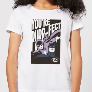 Batman You're Purr-fect Women's T-Shirt - White