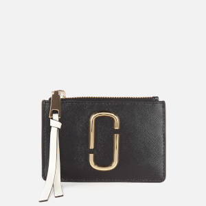 Marc Jacobs Women's Top Zip Wallet - Black Multi