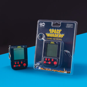 Space Invaders Game Keyring
