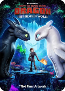 How to Train Your Dragon: The Hidden World 3D – (Includes 2D Blu-ray) Zavvi Exclusive Limited Edition Steelbook