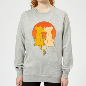 Disney Lion King We Are One Women's Sweatshirt - Grey