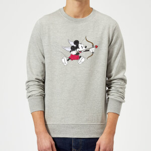 Disney Mickey Cupid Sweatshirt - Grey