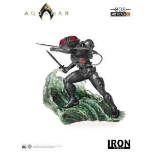 Iron Studios Aquaman BDS Art Scale Statue 1/10 Black Manta 20 cm