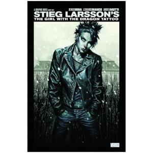 DC Comics - Girl With The Dragon Tattoo Hard Cover Vol 02