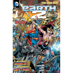 DC Comics - Earth 2 Hard Cover Vol 01 The Gathering (N52)