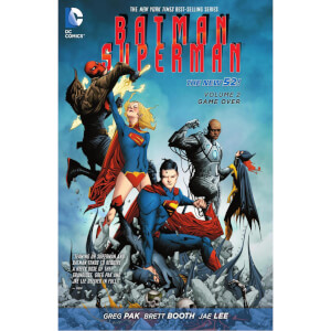 DC Comics - Batman Superman Hard Cover Vol 02 Game Over