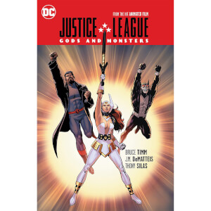 DC Comics - JLA Gods And Monsters Hard Cover