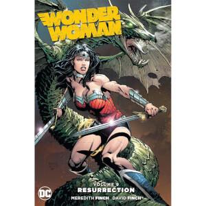 DC Comics - Wonder Woman Hard Cover Vol 09 Resurrection