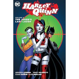 DC Comics - Harley Quinn Hard Cover Vol 05 The Jokers Last Laugh