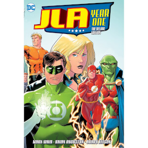 DC Comics - Jla Year One Deluxe Ed Hard Cover