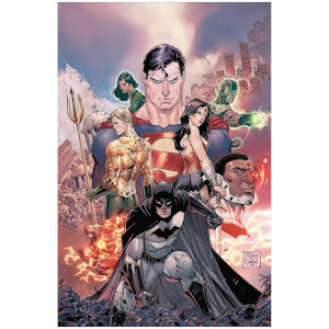 DC Comics - Justice League Rebirth Dlx Coll Hard Cover