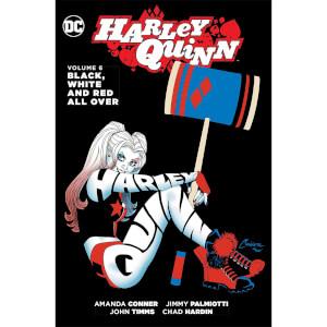 DC Comics - Harley Quinn Vol 06 Black White & Red All Over