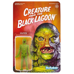Figurine articulée Super7 Universal Monsters ReAction – Créature du Black Lagoon – 10 cm