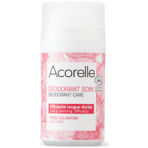 Acorelle Care Wild Rose Roller Ball Deodorant