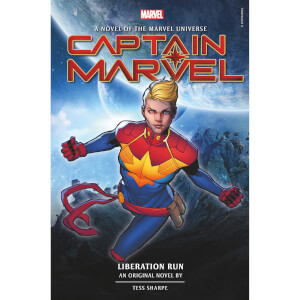 Captain Marvel: Liberation Run: An Original Novel by Tess Sharpe (Hardcover)