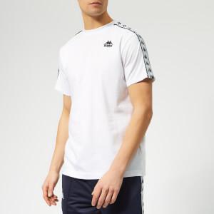 Kappa Men's Charlton Banda Short Sleeve T-Shirt - White