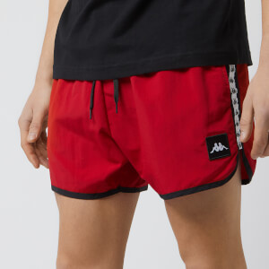 Kappa Men's Authentic Agius Swim Shorts - Red