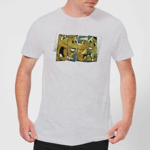 The Flintstones Vintage Men's T-Shirt - Grey
