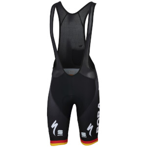 Sportful Bora-Hansgrohe BodyFit Pro Classic Bib Shorts - German National Champion Edition