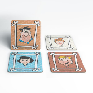 The Flintstones Characters Coaster Set