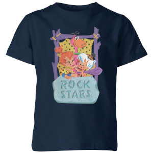 The Flintstones Rock Stars Kids' T-Shirt - Navy