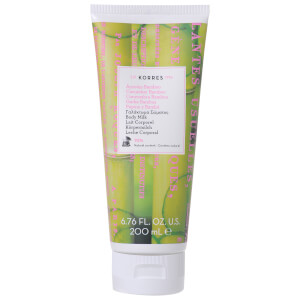 KORRES Natural Cucumber Bamboo Body Milk 200ml