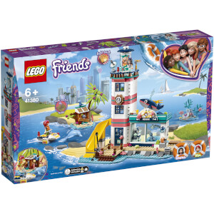 LEGO Friends: Lighthouse Rescue Center Sea Life Vet Set (41380)