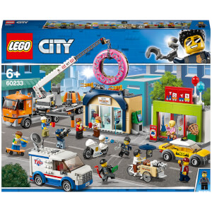 LEGO® City: L'ouverture du magasin de donuts (60233)