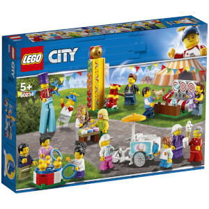 LEGO® City: Ensemble de figurines - La fête foraine (60234)