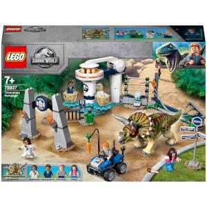 LEGO Jurassic World: Triceratops Rampage (75937)