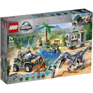 LEGO Jurassic World: Baryonx Face Off (75935)