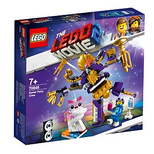 LEGO Movie 2: Systar Party Crew (70848)
