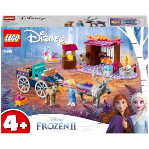 LEGO Disney Frozen II: Elsa's Wagon Adventure Toy (41166)