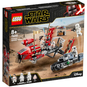 LEGO® Star Wars™: La course-poursuite en speeder sur Pasaana (75250)