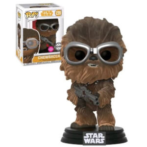Figurine Pop! Flocked Chewbacca avec lunettes EXC - Solo: A Star Wars Story
