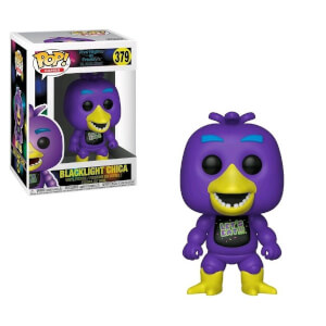 Five Nights at Freddy's - Chica versione Ultravioletta Figura Pop! Vinyl Esclusiva