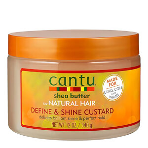 Cantu Shea Butter for Natural Hair Define & Shine Custard 340g