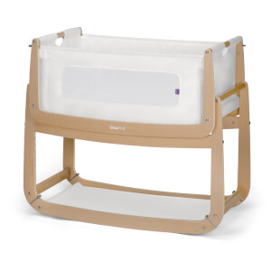 SnüzPod3 Bedside Crib - Natural