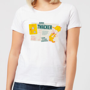 Looney Tunes ACME Twacker Women's T-Shirt - White