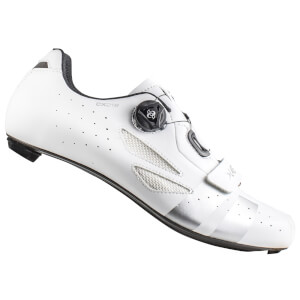 Lake CX218 Carbon Road Shoes - White/SIlver