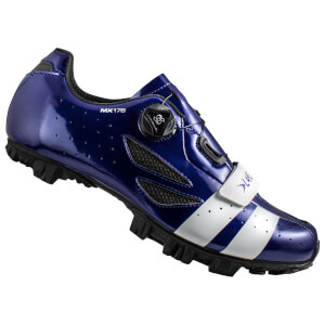 Lake MX176 MTB Shoes - Navy Blue/White