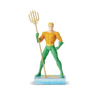 DC Comics by Jim Shore Aquaman Silver Age Figurine 22.0cm