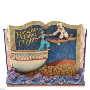 Disney Traditions Romance Takes Flight (Storybook Aladdin) 14.0cm