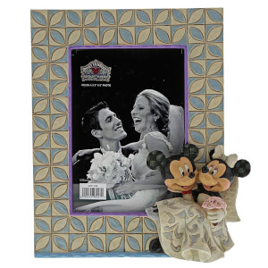Disney Traditions Mickey & Minnie Wedding Frame 18.0cm