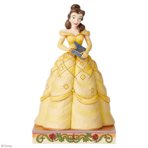 Disney Traditions Book-Smart Beauty (Belle Princess Passion Figurine)  19.0cm