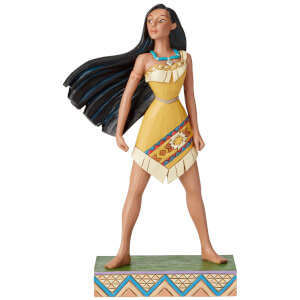 Proud Protector, Figurine Pocahontas Passion Princesse (19 cm) – Disney Traditions