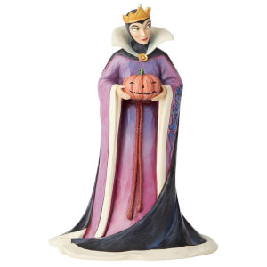 Citrouille empoisonnée, Figurine Méchante Reine d'Halloween – Disney Traditions