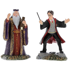 Harry Potter Village Harry and The Headmaster 8.0cm