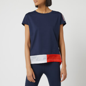 Tommy Hilfiger Sport Women's Fishtail Short Sleeve T-Shirt - Sport Navy